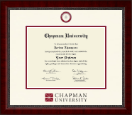 Chapman University Diploma Frame - Dimensions Diploma Frame in Sutton