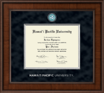 Hawaii Pacific University Diploma Frame - Presidential Masterpiece Diploma Frame in Madison