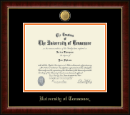The University of Tennessee Knoxville Diploma Frame - 23K Medallion Diploma Frame in Murano