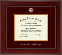 Rhode Island College Diploma Frame - Presidential Masterpiece Diploma Frame in Jefferson