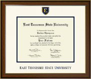 East Tennessee  State University Diploma Frame - Dimensions Diploma Frame in Westwood