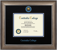 Centralia College Diploma Frame - Dimensions Diploma Frame in Easton