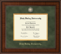 Utah Valley University Diploma Frame - Presidential Masterpiece Diploma Frame in Madison