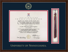 University of Pennsylvania Diploma Frame - Tassel Edition Diploma Frame in Delta