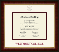 Westmont College Diploma Frame - Dimensions Diploma Frame in Murano