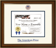 The American Prize Certificate Frame - Dimensions Certificate Frame in Westwood