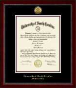 University of South Carolina Salkehatchie Diploma Frame - Gold Engraved Medallion Diploma Frame in Sutton