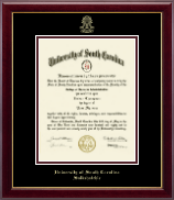 University of South Carolina Salkehatchie Diploma Frame - Gold Embossed Diploma Frame in Gallery