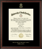 University of South Carolina Salkehatchie Diploma Frame - Gold Embossed Diploma Frame in Studio