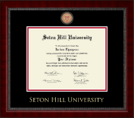Seton Hill University Diploma Frame - Masterpiece Medallion Diploma Frame in Sutton