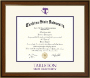 Tarleton State University Diploma Frame - Dimensions Diploma Frame in Westwood
