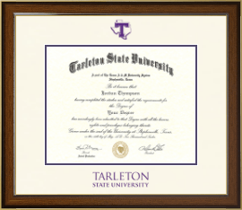Tarleton State University Diploma Frames Church Hill