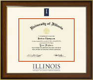 University of Illinois Diploma Frame - Dimensions Diploma Frame in Westwood