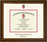University of Wisconsin Madison Diploma Frame - Dimensions Diploma Frame in Westwood