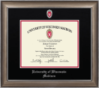 University of Wisconsin Madison Diploma Frame - Dimensions Diploma Frame in Easton