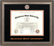 Oklahoma State University Diploma Frame - Dimensions Diploma Frame in Easton