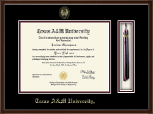 Texas A&M University Diploma Frame - Tassel Edition Diploma Frame in Delta