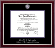 Nyu Diploma Frames For School Of Professional Studies