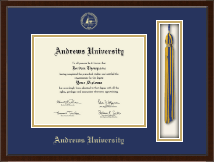 Andrews University Diploma Frame - Tassel Edition Diploma Frame in Delta