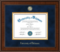 University of Delaware Diploma Frame - Presidential Masterpiece Diploma Frame in Madison