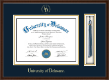 University of Delaware Diploma Frame - Tassel Edition Diploma Frame in Delta