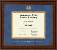Northwestern Health Sciences University Diploma Frame - Presidential Gold Engraved Diploma Frame in Madison