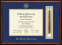 St. Mary's University Diploma Frame - Tassel Edition Diploma Frame in Southport