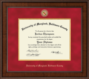 University of maryland baltimore county diploma frames church university of maryland baltimore county diploma frame presidential masterpiece diploma frame in madison solutioingenieria Gallery