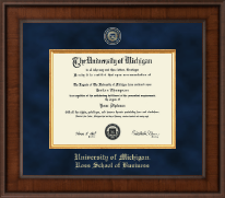 University of Michigan Diploma Frame - Presidential Masterpiece Diploma Frame in Madison