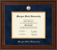 Morgan State University Diploma Frame - Presidential Masterpiece Diploma Frame in Madison