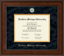 Northern Michigan University Diploma Frame - Presidential Masterpiece Diploma Frame in Madison