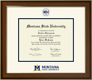 Montana State University Bozeman Diploma Frame - Dimensions Diploma Frame in Westwood