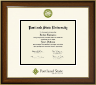 Portland State University Diploma Frame - Dimensions Diploma Frame in Westwood