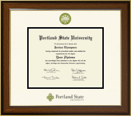 portland state university diploma frame dimensions diploma frame in westwood