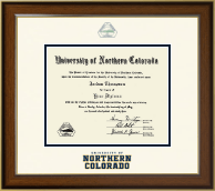 University of Northern Colorado Diploma Frame - Dimensions Diploma Frame in Westwood