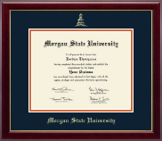 Morgan State University Diploma Frame - Gold Embossed Diploma Frame in Gallery