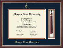 Morgan State University Diploma Frame - Tassel Edition Diploma Frame in Newport