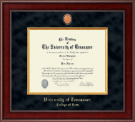 The University of Tennessee Knoxville Diploma Frame - Presidential Masterpiece Diploma Frame in Jefferson