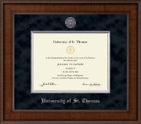 University of St. Thomas Diploma Frame - Presidential Masterpiece Diploma Frame in Madison