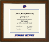 Boise State University Diploma Frame - Dimensions Diploma Frame in Westwood