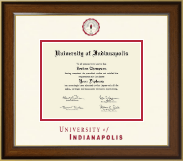 University of Indianapolis Diploma Frame - Dimensions Diploma Frame in Westwood