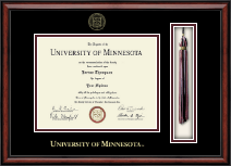University of Minnesota Twin Cities Diploma Frame - Tassel Edition Diploma Frame in Southport