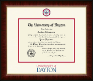 University of Dayton Diploma Frame - Dimensions Diploma Frame in Murano