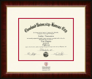 Cleveland University-Kansas City Diploma Frame - Dimensions Diploma Frame in Murano