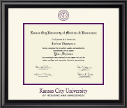 Kansas City University of Medicine and Biosciences Diploma Frame - Dimensions Diploma Frame in Midnight