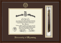 University of Wyoming Diploma Frame - Tassel Edition Diploma Frame in Delta