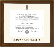 Brown University Diploma Frame - Dimensions Diploma Frame in Lancaster