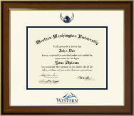 Western Washington University Diploma Frame - Dimensions Diploma Frame in Westwood
