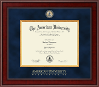 American University Diploma Frame - Presidential Masterpiece Diploma Frame in Jefferson