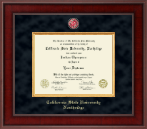 California State University Northridge Diploma Frame - Presidential Masterpiece Diploma Frame in Jefferson